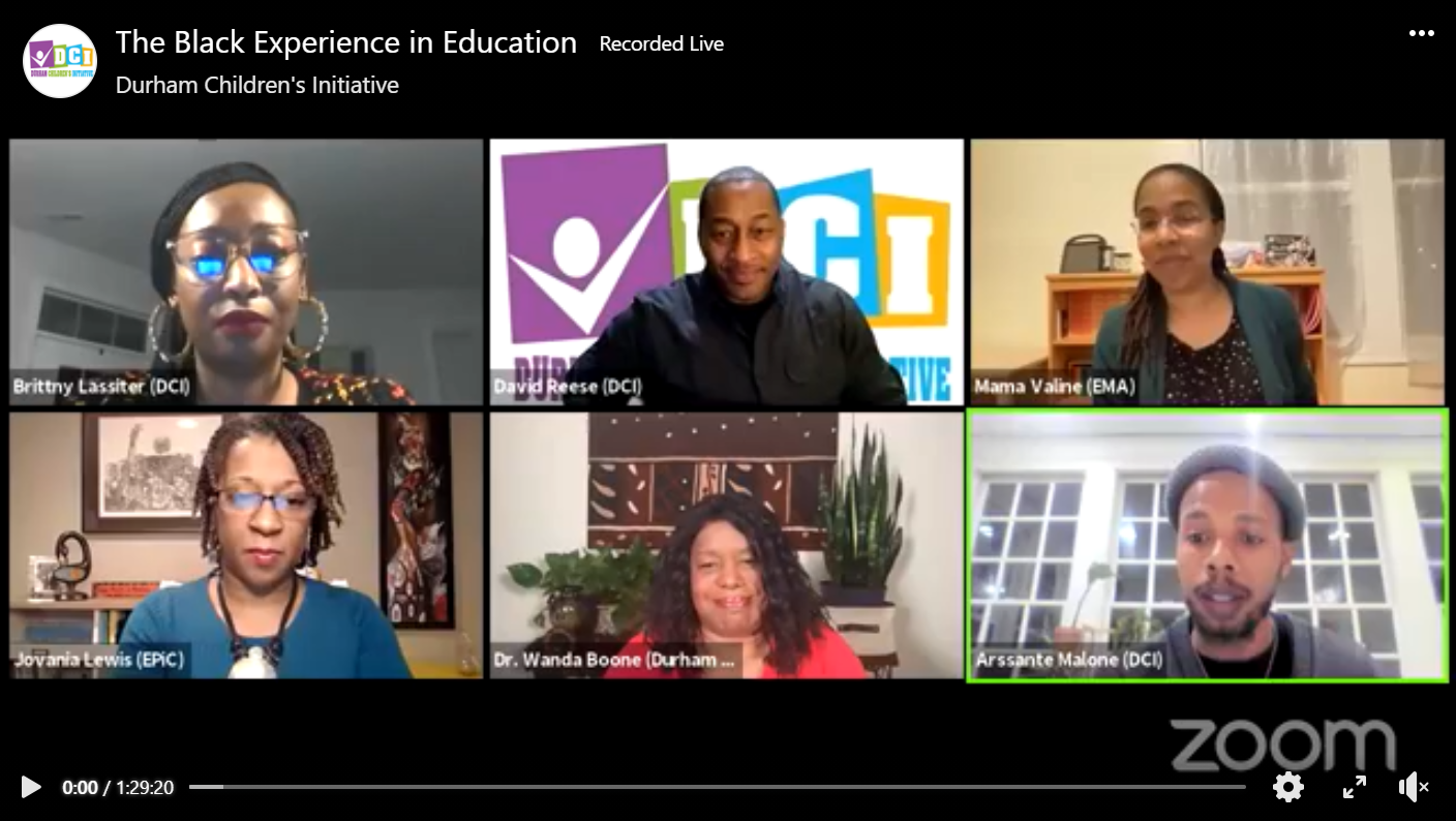 The Black Experience in Education Part 1