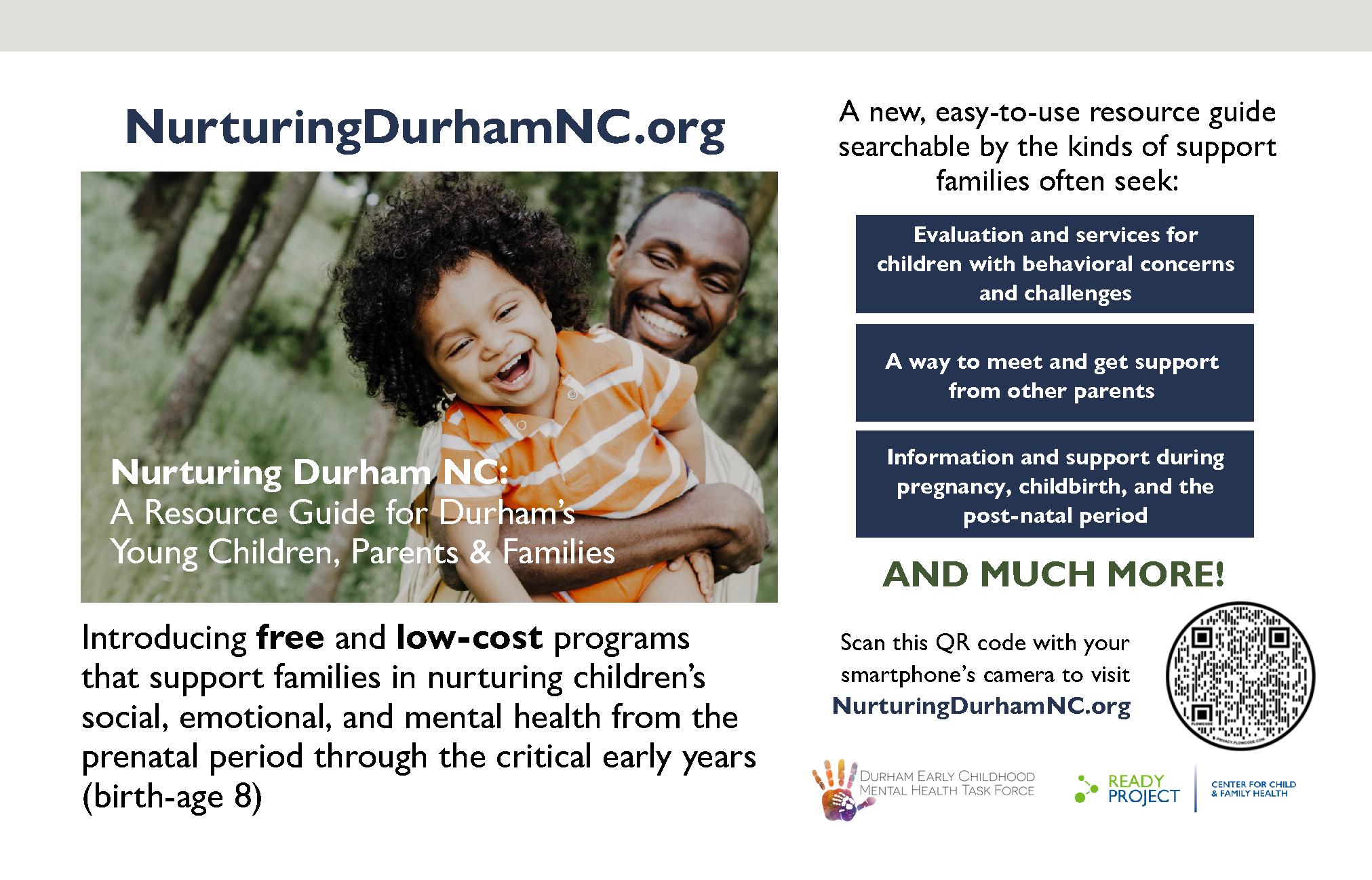 Nurturing Durham Eng flyer